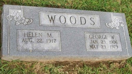 WOODS, GEORGE W. - Lawrence County, Missouri   GEORGE W. WOODS - Missouri Gravestone Photos