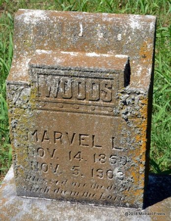 WOODS, MARVEL L. - Lawrence County, Missouri | MARVEL L. WOODS - Missouri Gravestone Photos