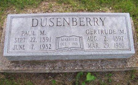 DUSENBERRY, PAUL - Lewis County, Missouri | PAUL DUSENBERRY - Missouri Gravestone Photos