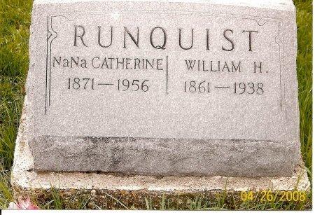 RUNQUIST, NANNIE CATHERINE - Lewis County, Missouri | NANNIE CATHERINE RUNQUIST - Missouri Gravestone Photos