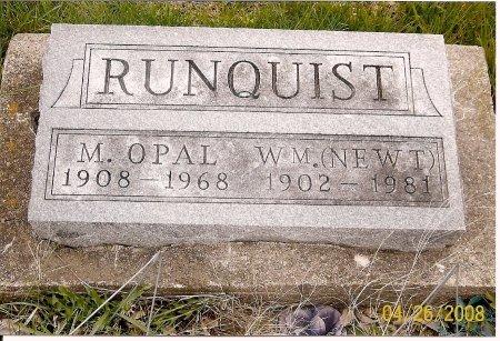 RUNQUIST, MARGARET OPAL - Lewis County, Missouri | MARGARET OPAL RUNQUIST - Missouri Gravestone Photos