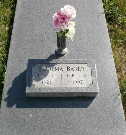 BAKER, EUDEMA E - Linn County, Missouri | EUDEMA E BAKER - Missouri Gravestone Photos