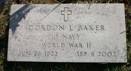 BAKER, GORDON LELAND VETERAN - Linn County, Missouri | GORDON LELAND VETERAN BAKER - Missouri Gravestone Photos