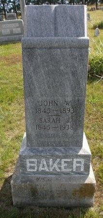 BAKER, JOHN WILLIAM - Linn County, Missouri | JOHN WILLIAM BAKER - Missouri Gravestone Photos