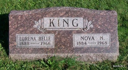 KING, LORENA BELLE - Linn County, Missouri | LORENA BELLE KING - Missouri Gravestone Photos