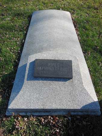 PIPES, RAYMOND GEORGE - Linn County, Missouri | RAYMOND GEORGE PIPES - Missouri Gravestone Photos