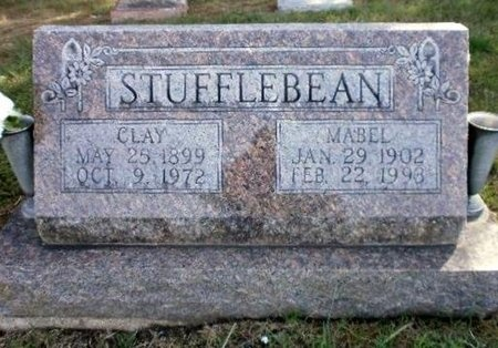 THUDIUM STUFFLEBEAN, MABEL MATILDA - Linn County, Missouri | MABEL MATILDA THUDIUM STUFFLEBEAN - Missouri Gravestone Photos