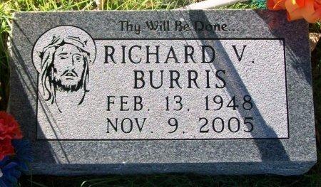 BURRIS, RICHARD VERNIE - Macon County, Missouri | RICHARD VERNIE BURRIS - Missouri Gravestone Photos