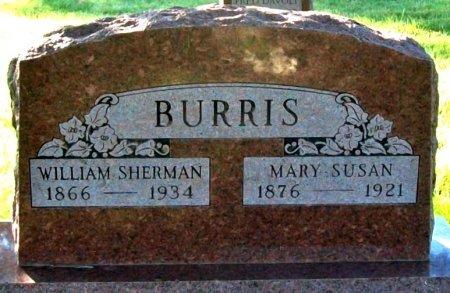 BURRIS, MARY SUSAN - Macon County, Missouri | MARY SUSAN BURRIS - Missouri Gravestone Photos