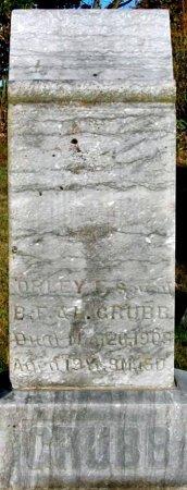 GRUBB, ORLEY F. - Macon County, Missouri   ORLEY F. GRUBB - Missouri Gravestone Photos