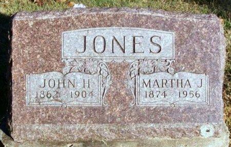 JONES, MARTHA J. - Macon County, Missouri | MARTHA J. JONES - Missouri Gravestone Photos