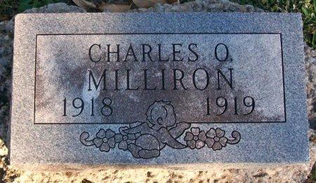 MILLIRON, CHARLES OWEN - Macon County, Missouri | CHARLES OWEN MILLIRON - Missouri Gravestone Photos