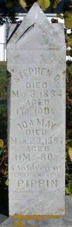 PIPPIN, STEPHEN DANIEL - Macon County, Missouri   STEPHEN DANIEL PIPPIN - Missouri Gravestone Photos