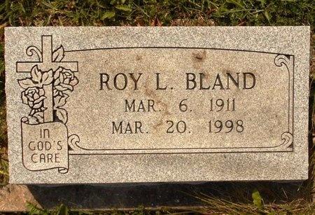 BLAND, ROY L. - Maries County, Missouri | ROY L. BLAND - Missouri Gravestone Photos