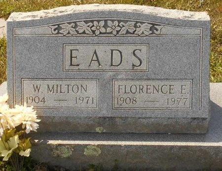 EADS, W. MILTON - Maries County, Missouri | W. MILTON EADS - Missouri Gravestone Photos