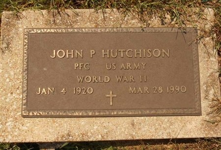 HUTCHISON, JOHN P (VETERAN WWII) - Maries County, Missouri | JOHN P (VETERAN WWII) HUTCHISON - Missouri Gravestone Photos
