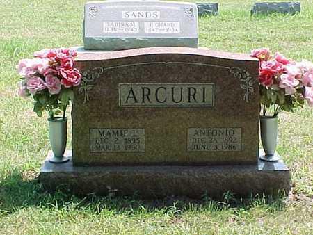 "ARCURI, ANTONIO ""TONY"" - Marion County, Missouri   ANTONIO ""TONY"" ARCURI - Missouri Gravestone Photos"