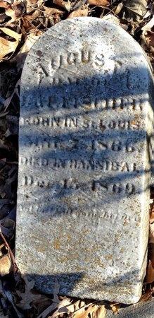 ARONSON, AUGUSTA - Marion County, Missouri   AUGUSTA ARONSON - Missouri Gravestone Photos