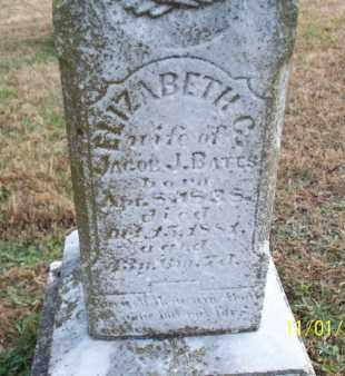 BATES, ELIZABETH C. - Marion County, Missouri | ELIZABETH C. BATES - Missouri Gravestone Photos