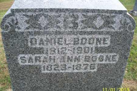 BOONE, SARAH ANN - Marion County, Missouri | SARAH ANN BOONE - Missouri Gravestone Photos