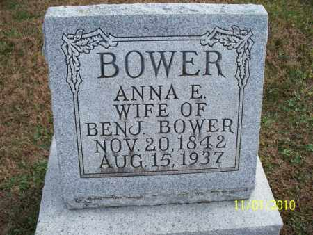 BOWER, ANNA E. - Marion County, Missouri   ANNA E. BOWER - Missouri Gravestone Photos