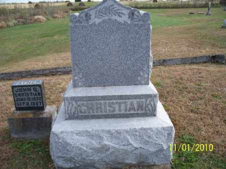 CHRISTIAN, *FAMILY STONE - Marion County, Missouri | *FAMILY STONE CHRISTIAN - Missouri Gravestone Photos