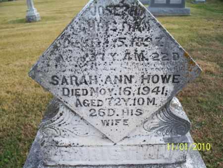 HOWE CHRISTIAN, SARAH ANN - Marion County, Missouri | SARAH ANN HOWE CHRISTIAN - Missouri Gravestone Photos