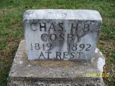 COSBY, CHAS. H. B. - Marion County, Missouri | CHAS. H. B. COSBY - Missouri Gravestone Photos