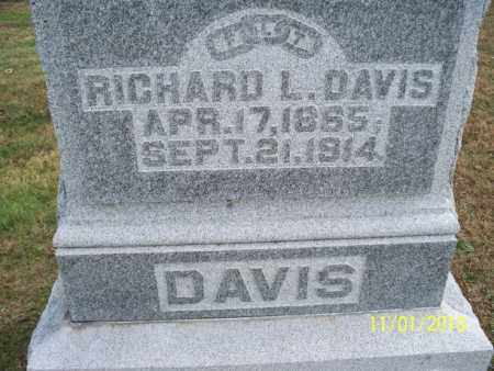 DAVIS, RICHARD L. - Marion County, Missouri | RICHARD L. DAVIS - Missouri Gravestone Photos
