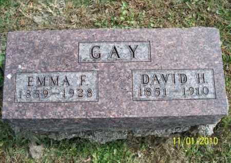 GAY, DAVID H. - Marion County, Missouri | DAVID H. GAY - Missouri Gravestone Photos