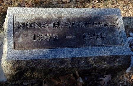 GOLDBERG, NONA M. - Marion County, Missouri | NONA M. GOLDBERG - Missouri Gravestone Photos