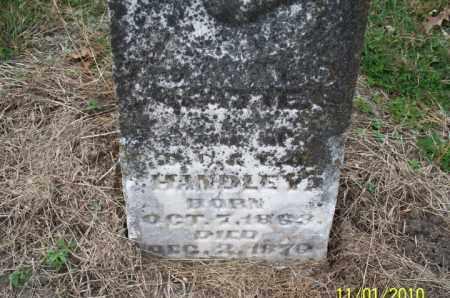 HANDLEY, UNKNOWN - Marion County, Missouri   UNKNOWN HANDLEY - Missouri Gravestone Photos