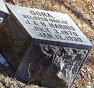 HARRIS, DORA - Marion County, Missouri | DORA HARRIS - Missouri Gravestone Photos