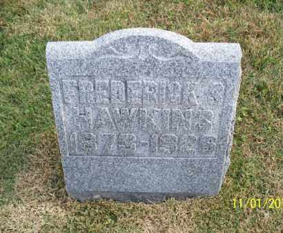 HAWKINS, FREDERICK S. - Marion County, Missouri | FREDERICK S. HAWKINS - Missouri Gravestone Photos