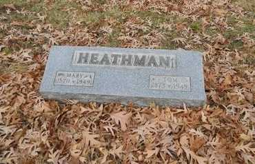 HEATHMAN, MARY R. - Marion County, Missouri | MARY R. HEATHMAN - Missouri Gravestone Photos