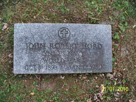 HORD, JOHN ROBERT (VETERAN WWI) - Marion County, Missouri | JOHN ROBERT (VETERAN WWI) HORD - Missouri Gravestone Photos