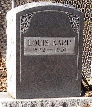 KARP, LOUIS - Marion County, Missouri   LOUIS KARP - Missouri Gravestone Photos