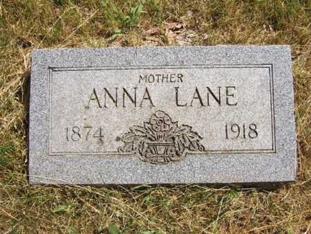 WALTERS LANE, ANNA - Marion County, Missouri | ANNA WALTERS LANE - Missouri Gravestone Photos