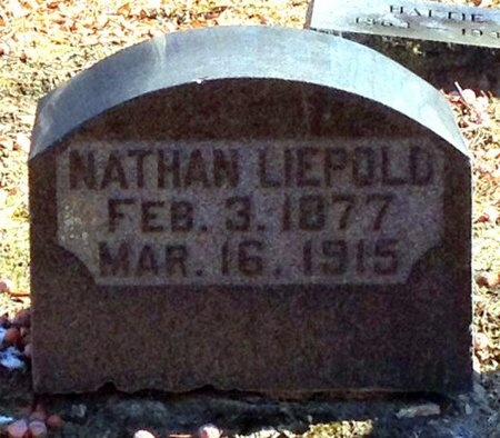 LIEPOLD, NATHAN - Marion County, Missouri   NATHAN LIEPOLD - Missouri Gravestone Photos