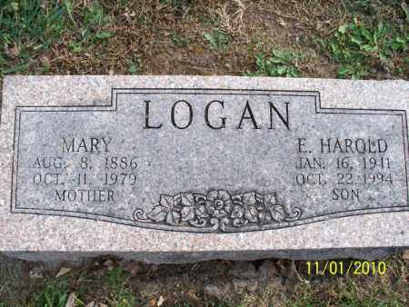 LOGAN, MARY - Marion County, Missouri | MARY LOGAN - Missouri Gravestone Photos