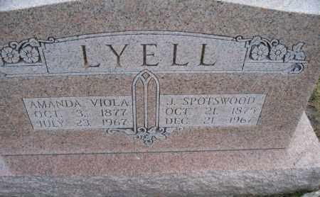LYELL, J. SPOTSWOOD - Marion County, Missouri | J. SPOTSWOOD LYELL - Missouri Gravestone Photos