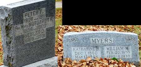 MYERS, PETER F - Marion County, Missouri | PETER F MYERS - Missouri Gravestone Photos