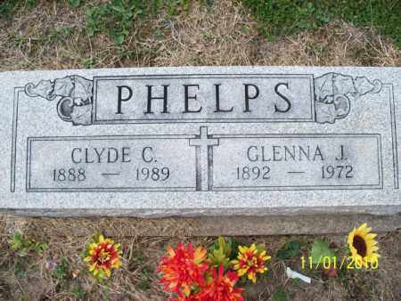 PHELPS, GLENNA J. - Marion County, Missouri | GLENNA J. PHELPS - Missouri Gravestone Photos