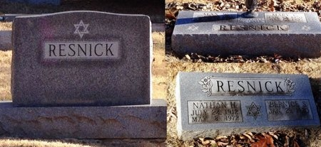 RESNICK, BERNICE S. - Marion County, Missouri | BERNICE S. RESNICK - Missouri Gravestone Photos