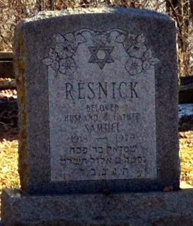 RESNICK, SAMUEL - Marion County, Missouri | SAMUEL RESNICK - Missouri Gravestone Photos
