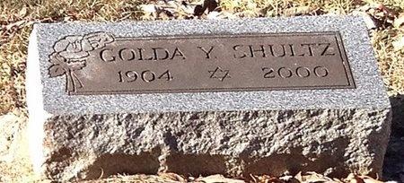 SHULTZ, GOLDA Y. - Marion County, Missouri   GOLDA Y. SHULTZ - Missouri Gravestone Photos