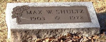 SHULTZ, MAX W. - Marion County, Missouri | MAX W. SHULTZ - Missouri Gravestone Photos