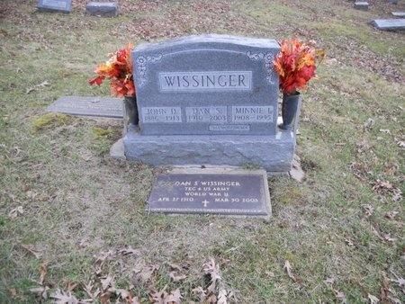 WISSINGER, DAN S. VETERAN WWII - Marion County, Missouri | DAN S. VETERAN WWII WISSINGER - Missouri Gravestone Photos