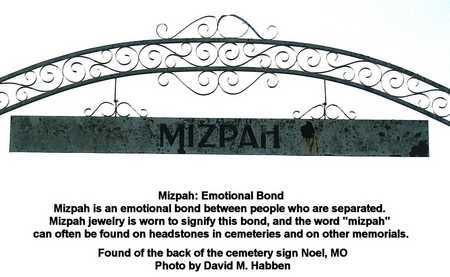 *, BACK SIDE OF CEMETERY GATE - McDonald County, Missouri | BACK SIDE OF CEMETERY GATE * - Missouri Gravestone Photos