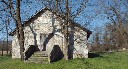 *, OVERVIEW OAK GROVE CHURCH - McDonald County, Missouri | OVERVIEW OAK GROVE CHURCH * - Missouri Gravestone Photos